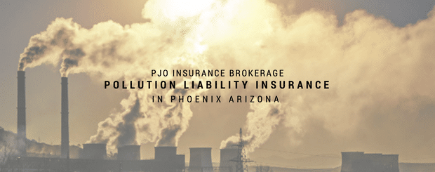 PJO Brokerage City of PHX Pollution Liability Insurance Services
