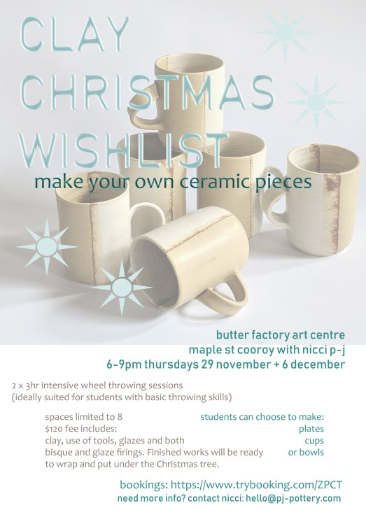clay xmas workshop with npj
