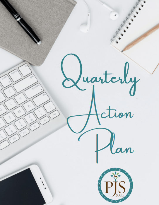 strategic planning - goals for quarter