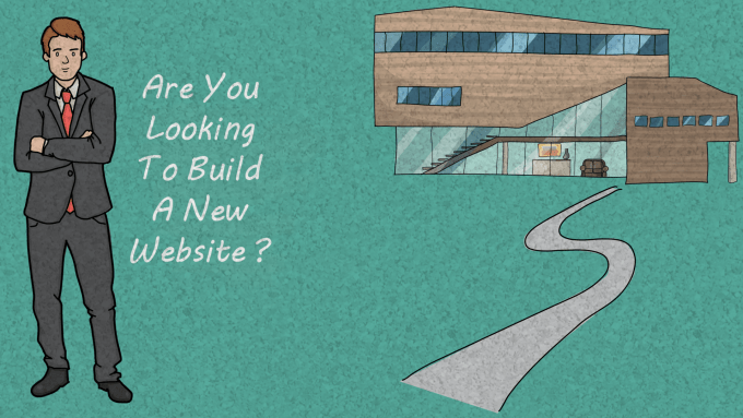 are you looking to build a new website for digital marketing and online promotion