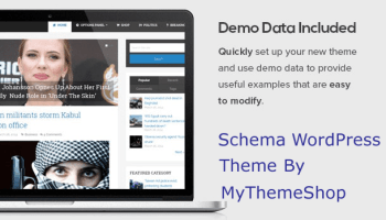schema website theme updated with seo-friendly features for making optimized websites