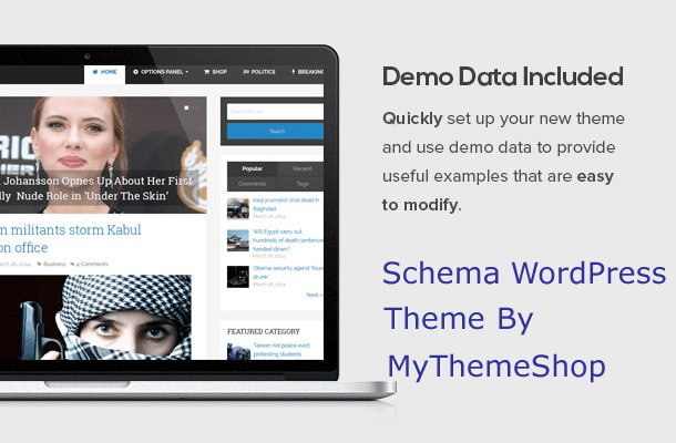seo-friendly schema website theme updated with quick page loading speed