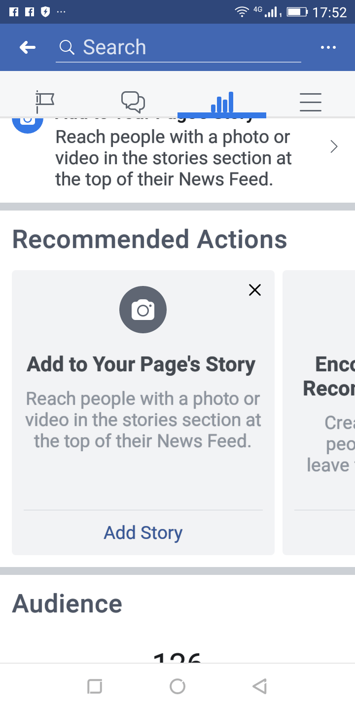 this fresh item by facebook mobile would show up at the audience news feed