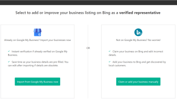 register a new firm or enrich current official details to optimize bing company listing