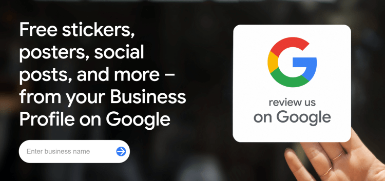 google has rolled out a free marketing kit to help you promote your company