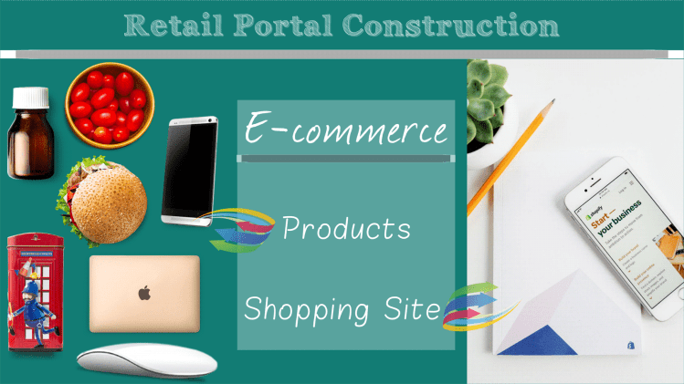 a service provider capable of designing websites and retail portal construction