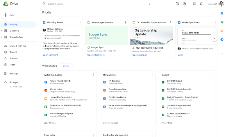 business starter edition of google workspace with premium slides