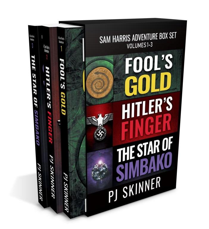 Sam Harris Adventure Box Set: vols 1, 2 and 3