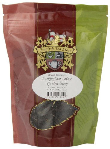 English Tea Store Loose Leaf, Buckingham Palace Garden Party Tea, 4 Ounce
