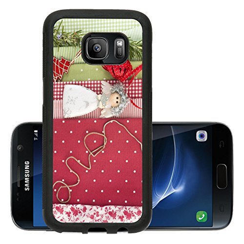 Liili Premium Samsung Galaxy S7 Aluminum Backplate Bumper Snap Case IMAGE ID 33456785 Preparing for Christmas ornaments and fabrics to decorate
