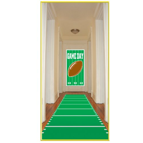 Sports Field Runner (poly w/double-stick tape) Party Accessory (1 count) (1/Pkg)