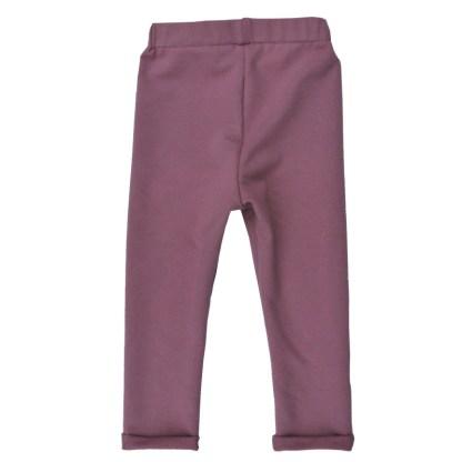 oud roze legging achterkant