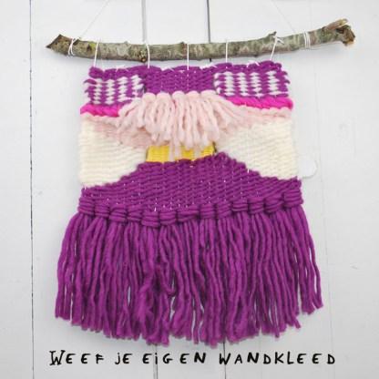 workshop Wandkleedje weven