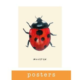 Posters van Pjut voor de kinderkamer