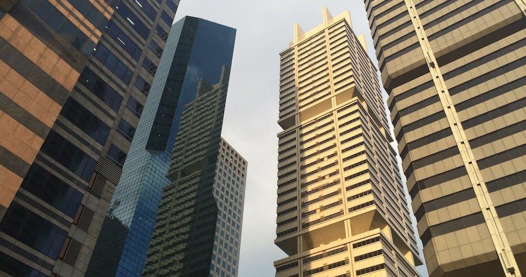 Downtown City Scape