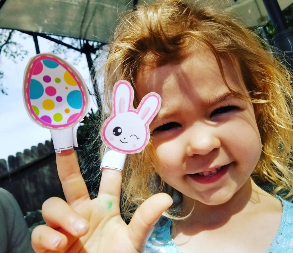 Free Printable Easter Emoji Finger Puppets