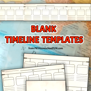 free printable timeline templates blank