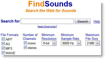 Sounds Search Engine