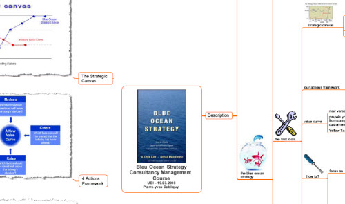 Blue Ocean Strategy Mind Map