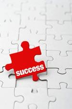 Success Puzzle Piece