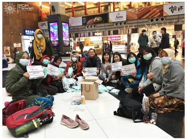 Cegah Penyebaran Virus Corona, Muhammadiyah Taiwan Kembali Bagikan Ribuan Masker