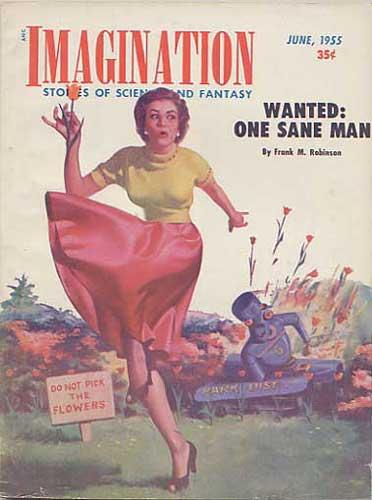 The cover of Imagination Magazine June 1955