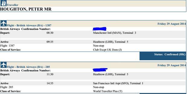 Flight info (1/2)