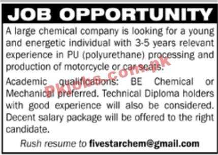 Jobs In Large Chemical Company