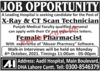 Jobs In Leading Hospital