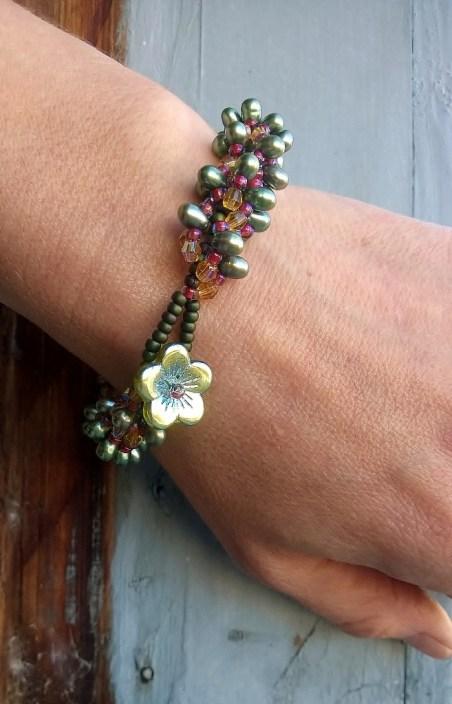 Spiral-Rope Garden Bracelet