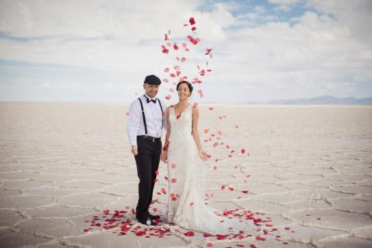 Wedding photography uyuni Bolivia