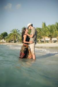 Frann y Mateo Amor en el caribe