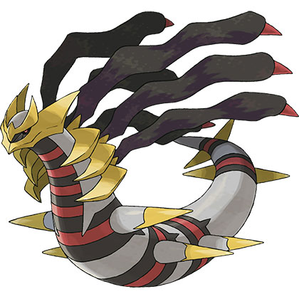 top 10 pokémon tipo fantasma Giratina-Origin