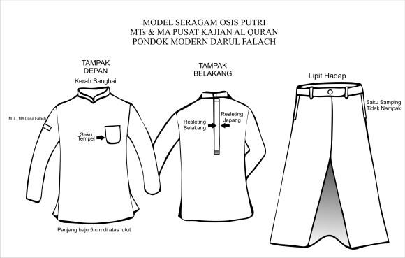 Model Seragam OSIS