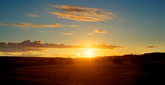 Balmedie sunset