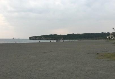 高雄のビーチ