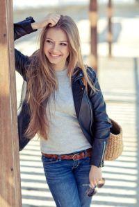 モデル級の美女