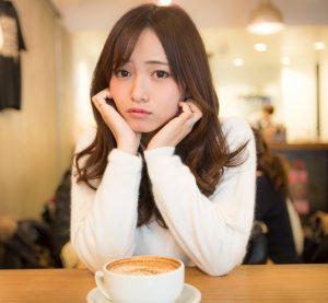 コーヒーと美女
