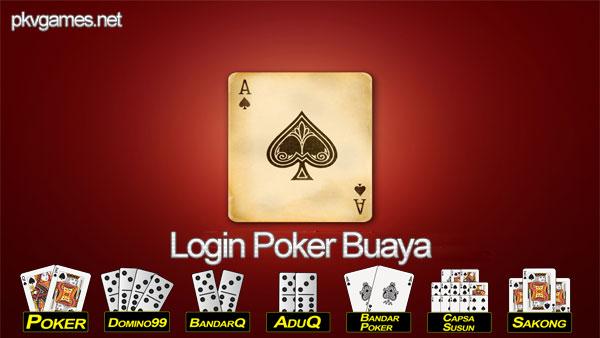 Login Poker Buaya