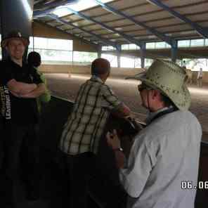 Prignitzer Cowboys beim Reitausflug - Pferdeleasing