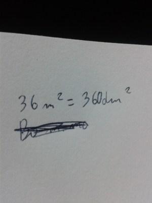 3,6 m kwadratowe to ile dm kwadratowe  Brainlypl