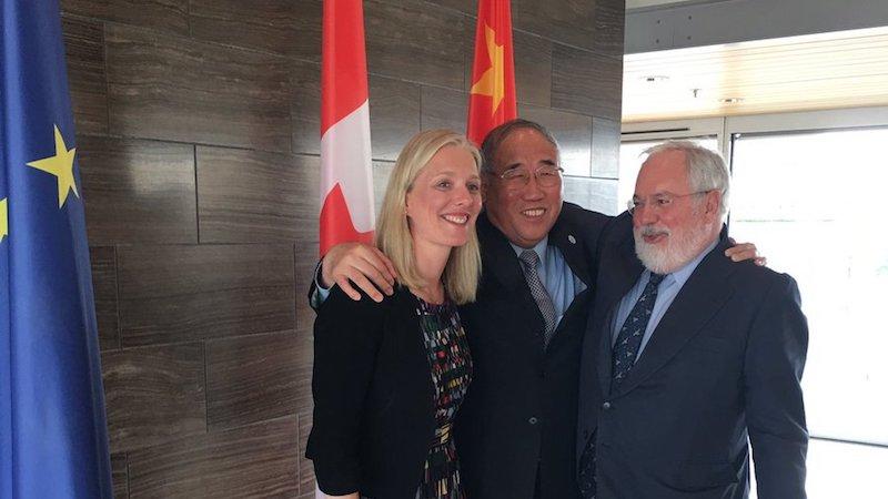 Ogłoszenie spotkania w Montrealu