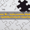Check Power BI visual errors logo