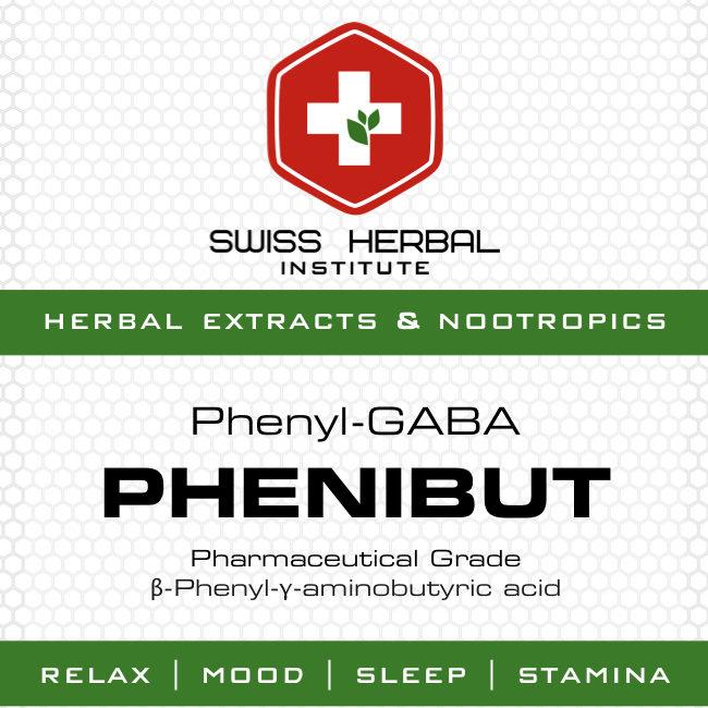 Fenibut   Phenibut - sklep z suplementami Swiss Herbal