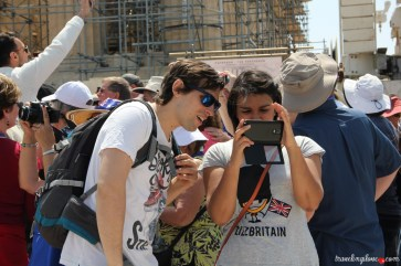 Selfie na Akropolu (2)