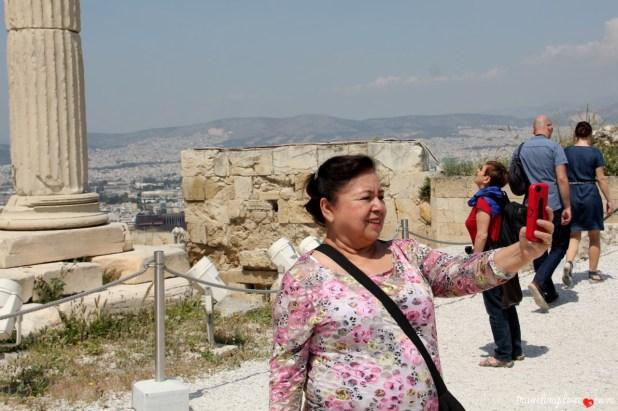 Selfie na Akropolu (8)