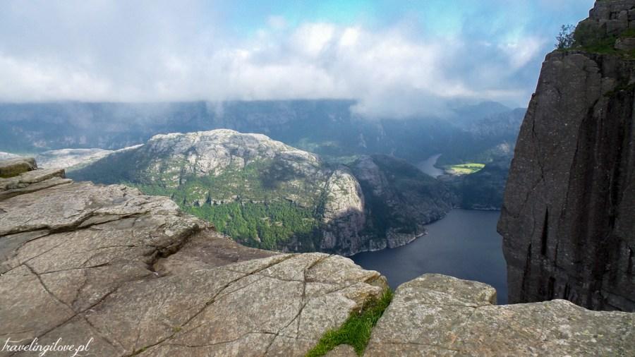 Wycieczka do Norwegii na Preikestolen