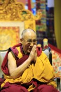 Ook de Dalai Lama kreeg de Nobelprijs voor de Vrede. Volgens de argumentatie van Adriaensens onterecht. Foto BD/Marc Loogman