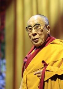 Dalai Lama Rotterdam. Foto Marc Loogman/BD