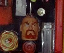 Pierre Wagemakers Roosendaal object detail hoofd